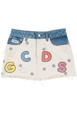 GCDS Donna Gonne denim - BOTTOMWEAR - Gonne jeans
