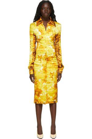 Kwaidan Editions Wadded Satin Shirt Dress