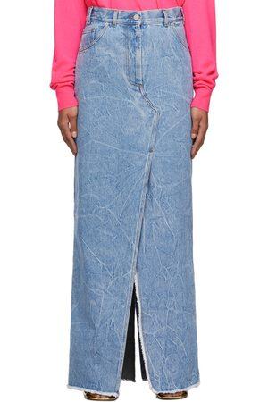 DRIES VAN NOTEN Denim Silvana Long Skirt