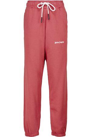 Palm Angels Pantaloni sportivi in cotone con logo