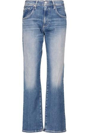 AG Jeans Jeans regular Boyfriend Wide a vita alta