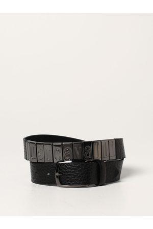 Roberto Cavalli Uomo Cinture - Cintura in pelle martellata