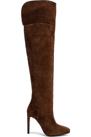 House of Harlow X REVOLVE Nora Boot in - Chocolate. Size 10 (also in 6, 9, 8, 6.5, 7, 7.5, 8.5, 9.5).