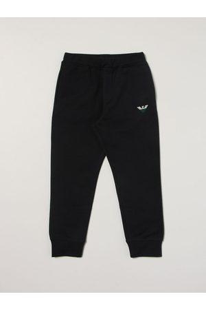 Emporio Armani Bambino Pantalone jogging in cotone con logo