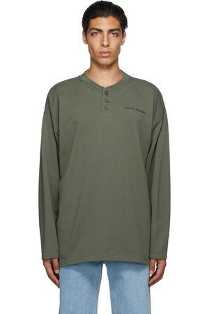 Martin Asbjorn Uomo Polo - SSENSE Exclusive Green Cooper Rugby Polo T-Shirt