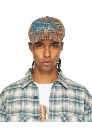 Palm Angels Uomo Cappelli con visiera - Brown PXP Sprayed Cap