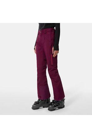 The North Face Donna Abbigliamento da sci - The North Face Pantaloni Donna Lenado Pamplona Purple Taglia L Standard Donna