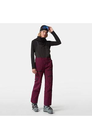 The North Face The North Face Brigandine Futurelight™ Pantaloni Salopette Donna Pamplona Purple/tnf Black Taglia L Donna