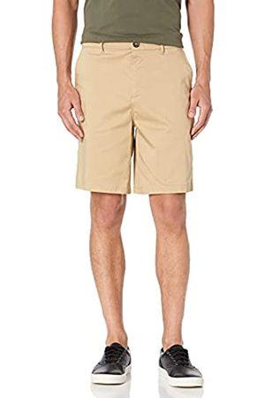 "28 Palms 9"" Inseam Cotton Tencel Chino Short Shorts, Chiaro, 31"