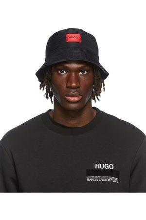 HUGO BOSS Uomo Cappelli - Black Box Logo Bucket Hat