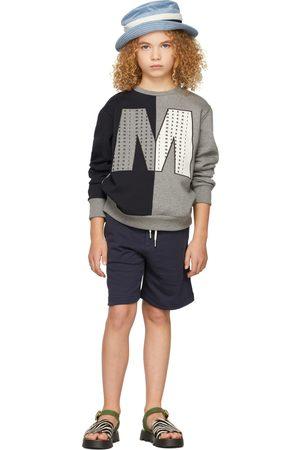 Marni Felpe - Kids Bicolor Big 'M' Sweatshirt