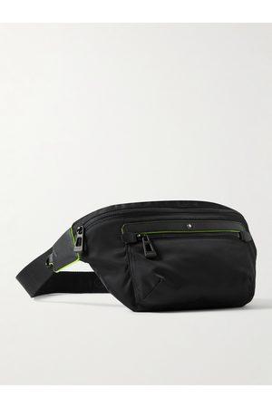 Montblanc Uomo Cinture - Public School Blue Spirit Leather-Trimmed ECONYL Belt Bag