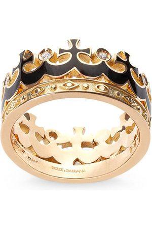 Dolce & Gabbana Anello con corona in 18kt