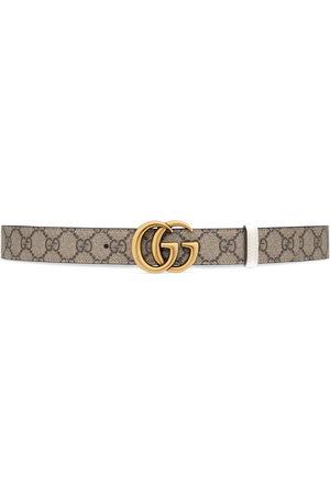 Gucci Donna Cinture - Cintura reversibile GG Marmont