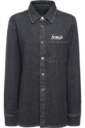 Stella McCartney Camicia In Denim Black Wash