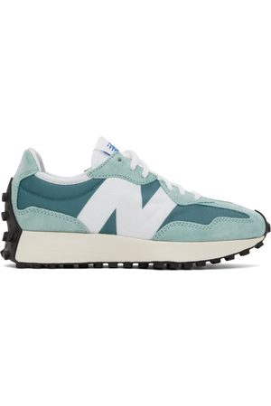 New Balance Donna Sneakers - Blue & White 327 Sneakers