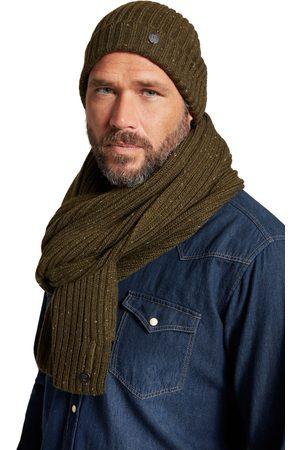 JP 1880 Cuffia di maglia a costine con effetto mélange