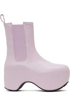 AREA Donna Stivali con plateau - Platform Ankle Boot