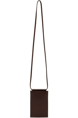 Building Block Donna Cellulare - SSENSE Exclusive Brown iPhone Sling Pouch