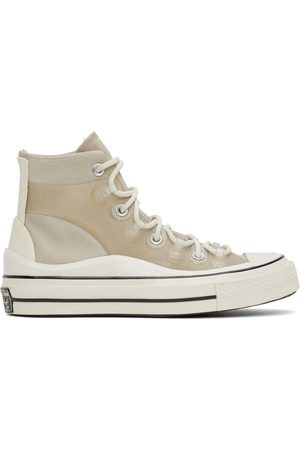 Converse Donna Sneakers - Beige Chuck 70 Utility Hi Sneakers