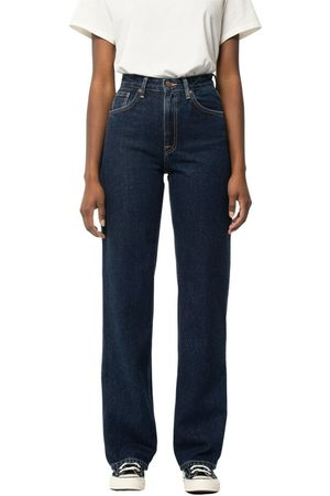 Nudie Jeans Clean Eileen Heavy Rinse , Donna, Taglia: W28 L32