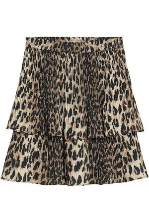 Catwalk Junkie SK Wild Leopard Frill Skirt , Donna, Taglia: M