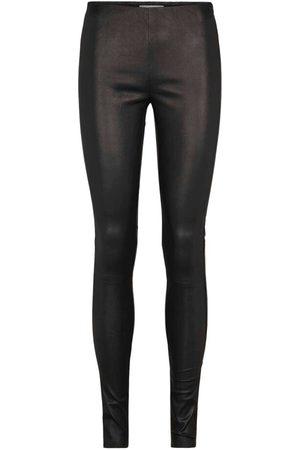 Just Female Nex leather leggings , Donna, Taglia: 34