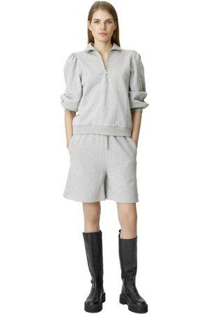 Gestuz NankitaGZ ss zipper sweatshirt , Donna, Taglia: XS