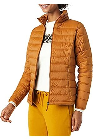 Amazon Donna Giacche estive - Lightweight Water-Resistant Packable Puffer Jacket Giacca, Tan, XL