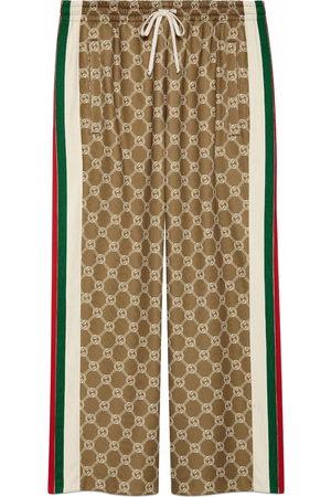 Gucci Pantaloni sportivi GG con coulisse