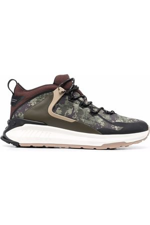 Tod's Sneakers No_Code J con stampa camouflage