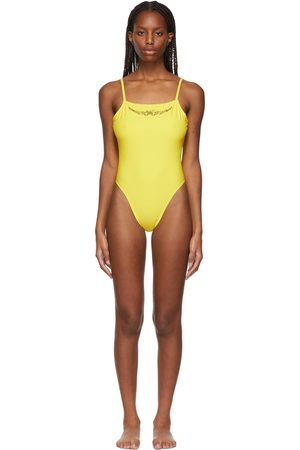 Collina Strada SSENSE Exclusive Butterfly G-String One-Piece Swimsuit