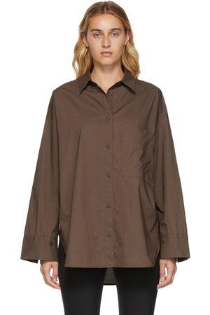 By Malene Birger Brown Organic Cotton Derris Shirt