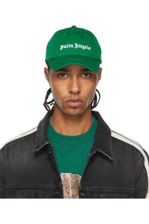 Palm Angels Green Logo Cap