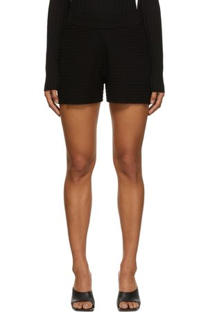 Dagmar Black Knitted Geri Short