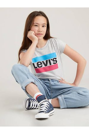 Levi's Bambina T-shirt sportive - T shirt con logo sportivo teenager / Grey Heather