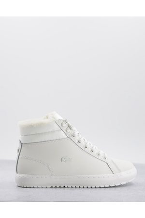 Lacoste Straightset - Sneakers alte sporco