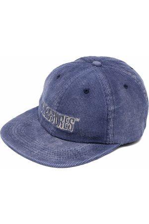 Pleasures Cappello da baseball a coste con ricamo