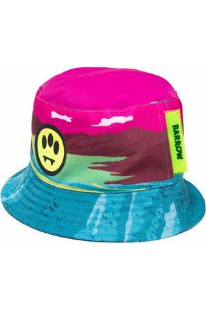 BARROW Cappello bucket con stampa grafica