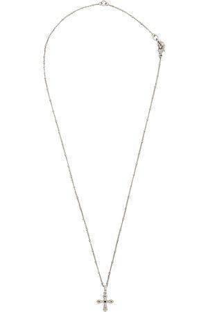 Dolce & Gabbana Silver Cross Necklace