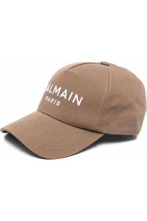 Balmain Cappello da baseball con ricamo