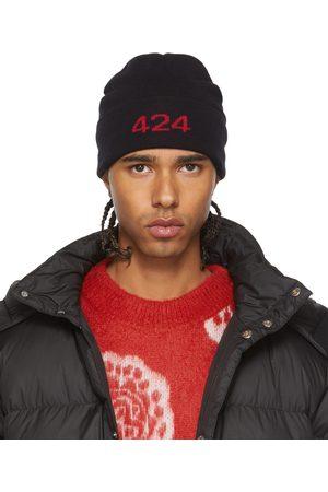 424 FAIRFAX Black Alias Beanie