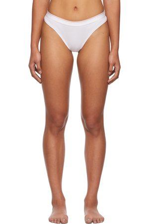 Calvin Klein White Season 2 Tanga Briefs