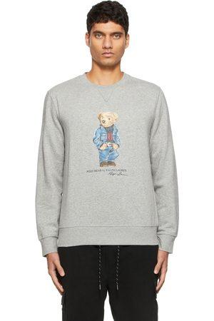 Polo Ralph Lauren Grey Polo Bear Fleece Sweatshirt