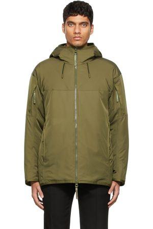 Burberry Khaki Padded Jacket