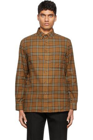 Burberry Brown Classic Check Shirt