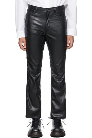 N.Hoolywood Synthetic Leather Pants