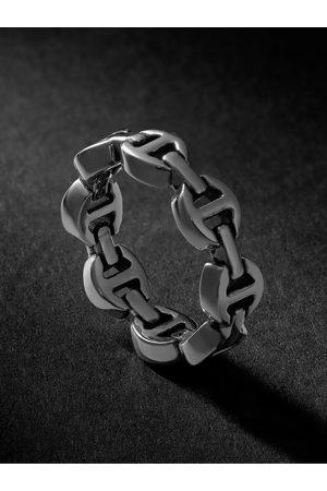 HOORSENBUHS Uomo Anelli - Dame Tri-Link Gold Ring