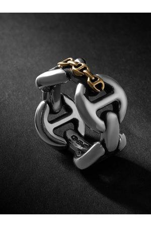 HOORSENBUHS Uomo Anelli - Affix Quad and Gold Ring