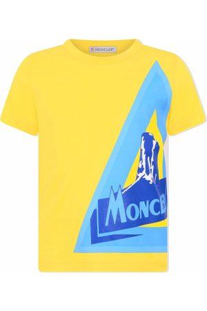 Moncler Logo graphic-print cotton T-shirt